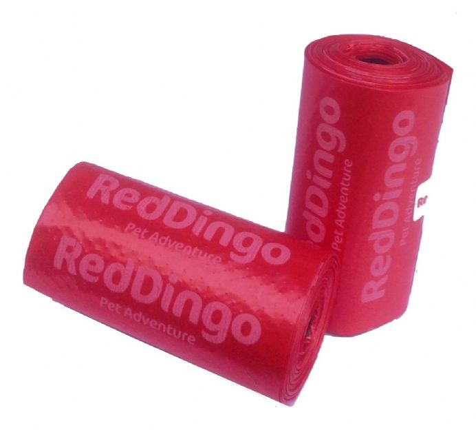 Red Dingo Biodegradable Poo Bags